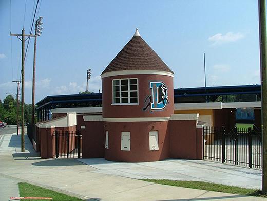 Historic Durham Athletic Park Durham Nc