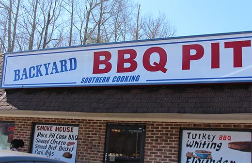 Backyard BBQ Pit