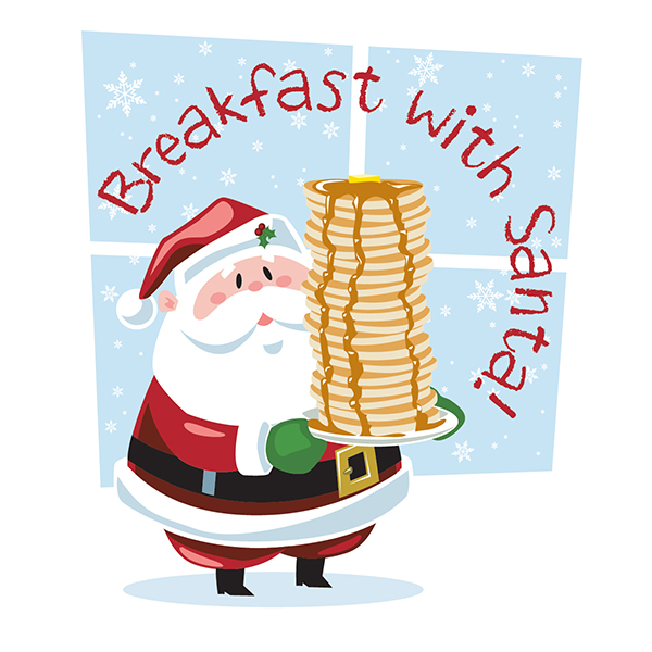 Image result for image breakfast with santa