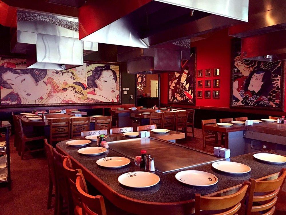 Kobe Teppan Sushi - Teppan table