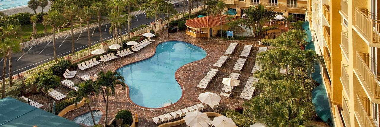 EMBASSY SUITES DEERFIELD BEACH RESORT & SPA   Deerfield Beach, FL ...