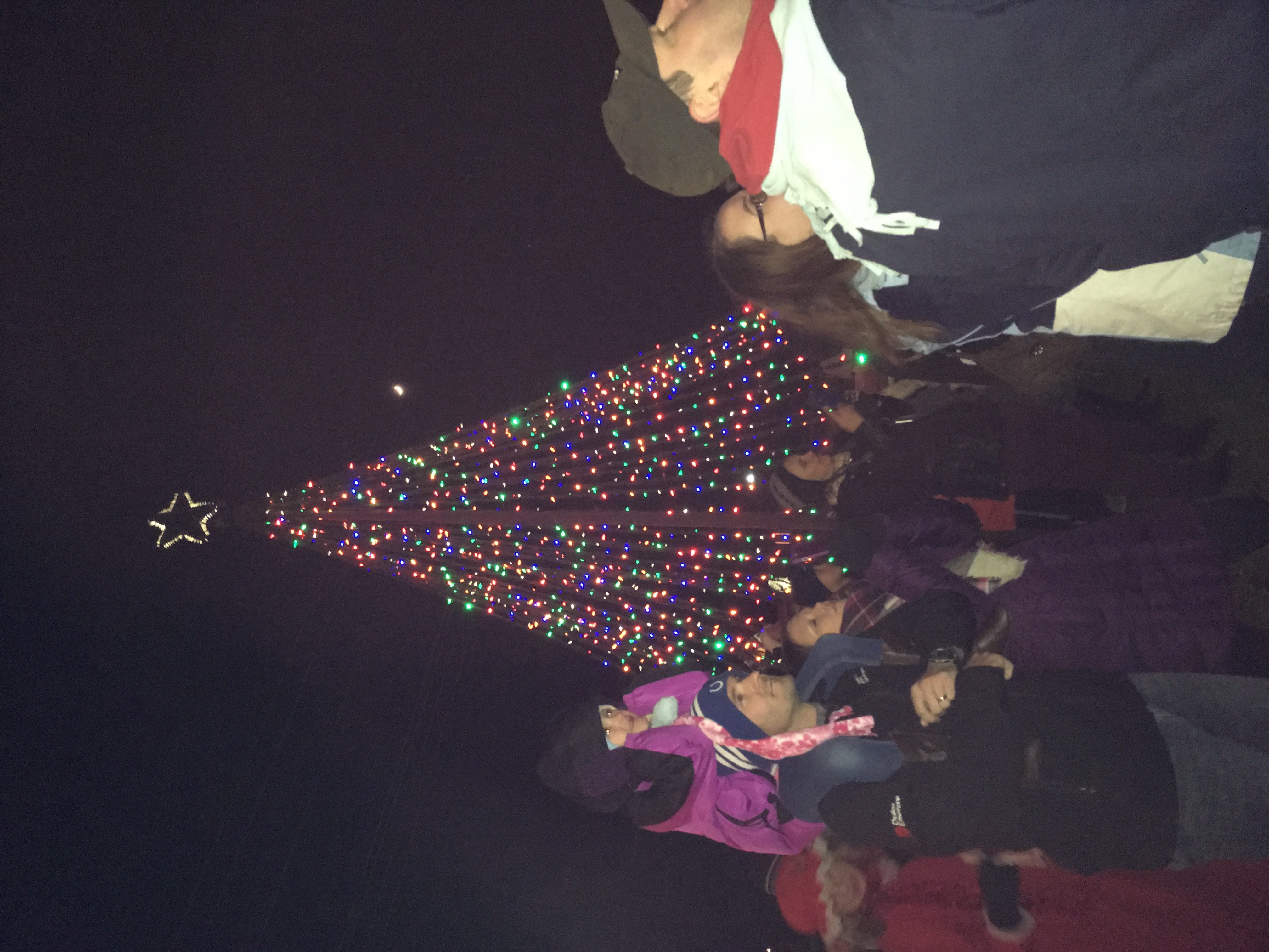 spectacular nov at angeles sale lighting station annual christmas union tree los