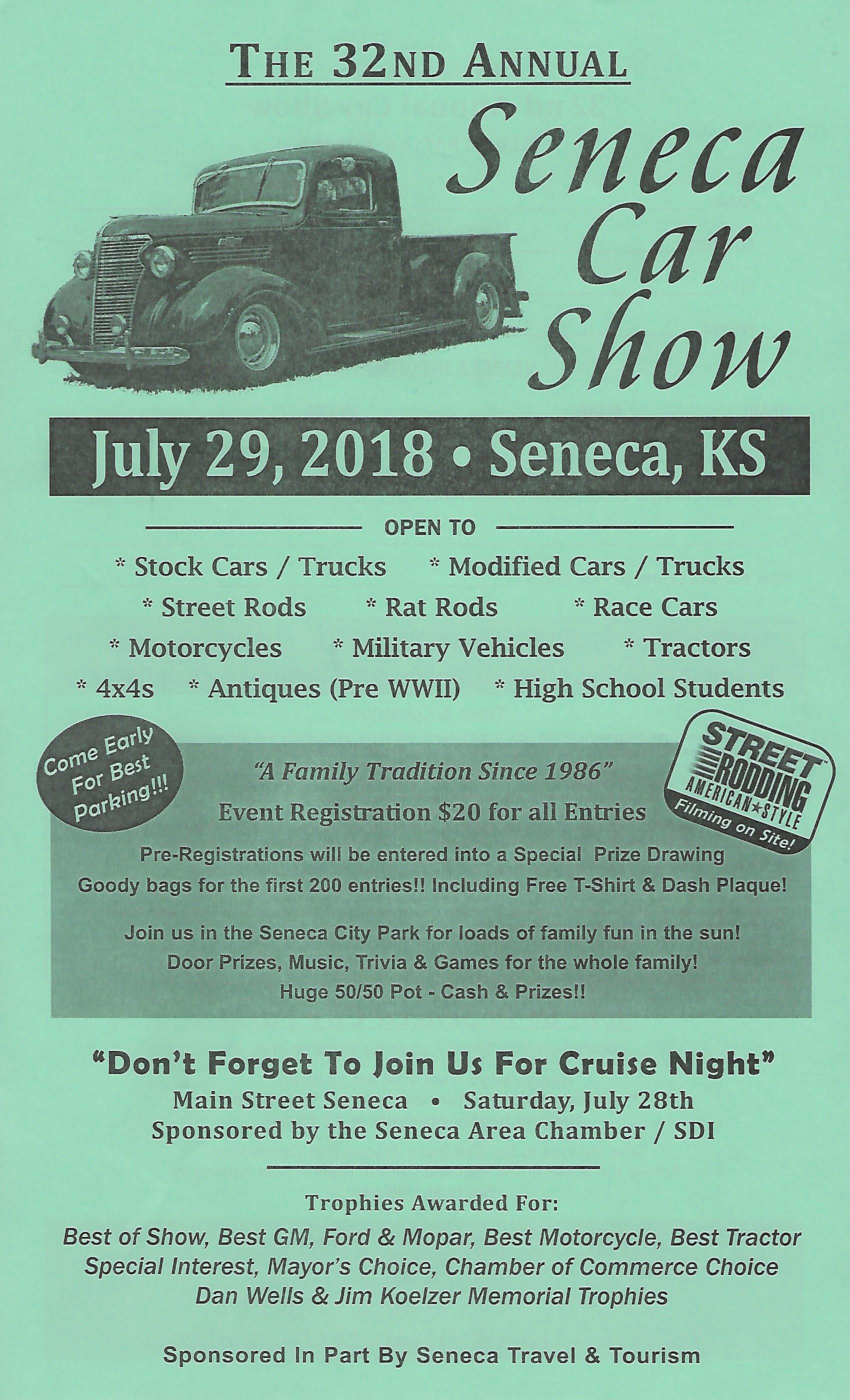 Seneca Car Show Seneca KS - Car show games