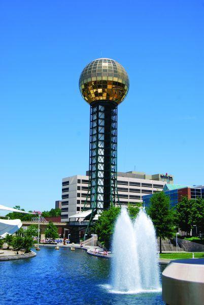 towering 266 feet above the citys skyline