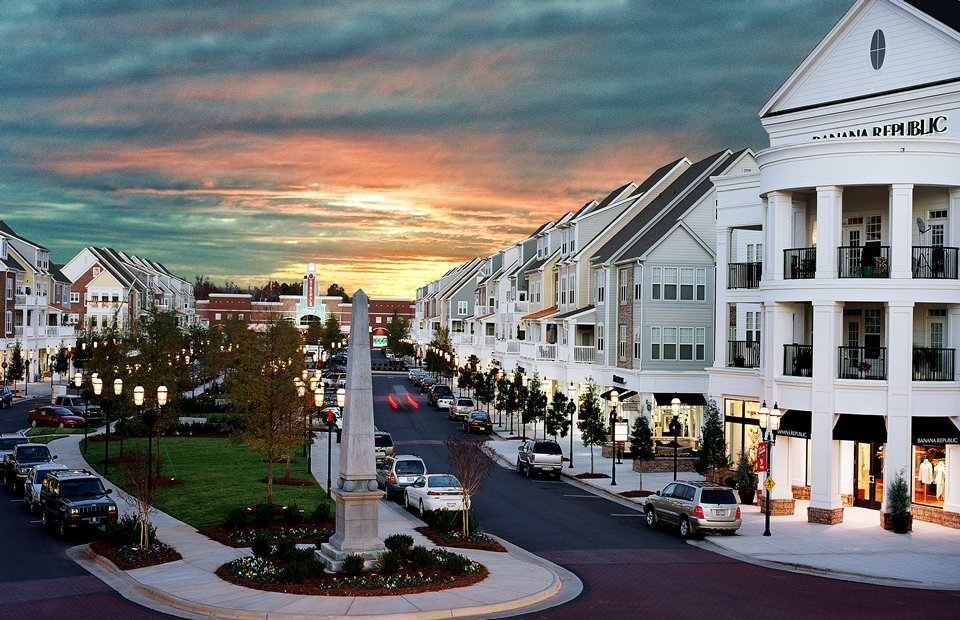 Birkdale Village is a new urban mixed-use community in Huntersville, North Carolina, United States, 12 miles (19 km) north of Charlotte, North Carolina. It was named after the English village of Birkdale, near piserialajax.cf has numerous restaurants, stores, cafes, apartments, town homes, and houses. A gym, a movie theater, a supermarket, a golf course, a greenway, an express bus park and ride.