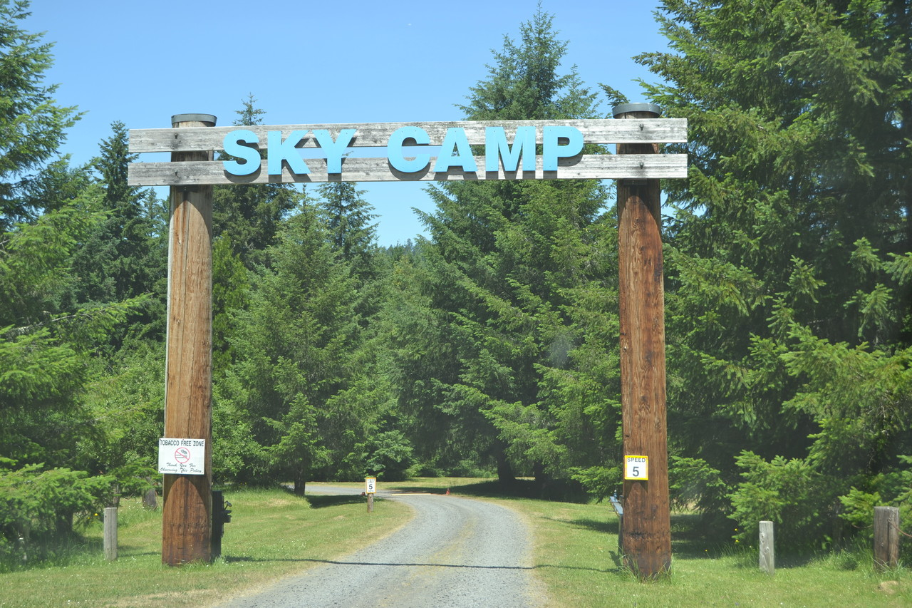 SKY Camp Entrance To Lodge