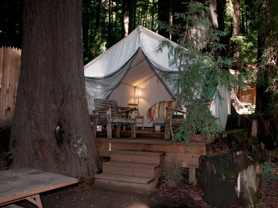 Fernwood tent & Fernwood Resort u0026 Campgrounds