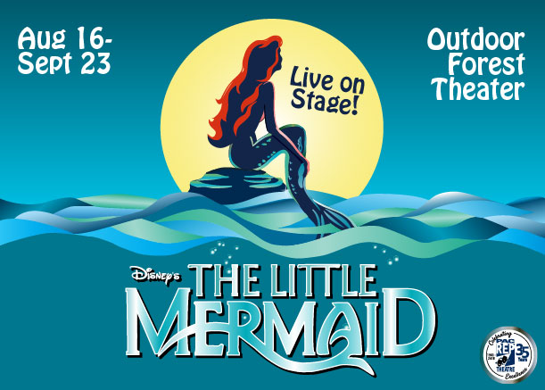Pacrep Theater Presents Little Mermaid @ Outdoor Forest Theater | Carmel-by-the-Sea | California | United States