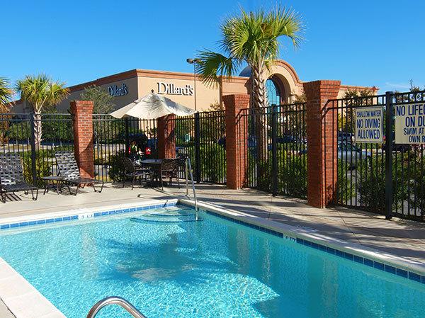 pool with view of dillards at the hilton garden inn - Hilton Garden Inn Myrtle Beach