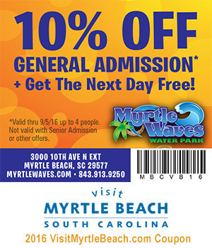 Myrtle Waves Coupon 12222