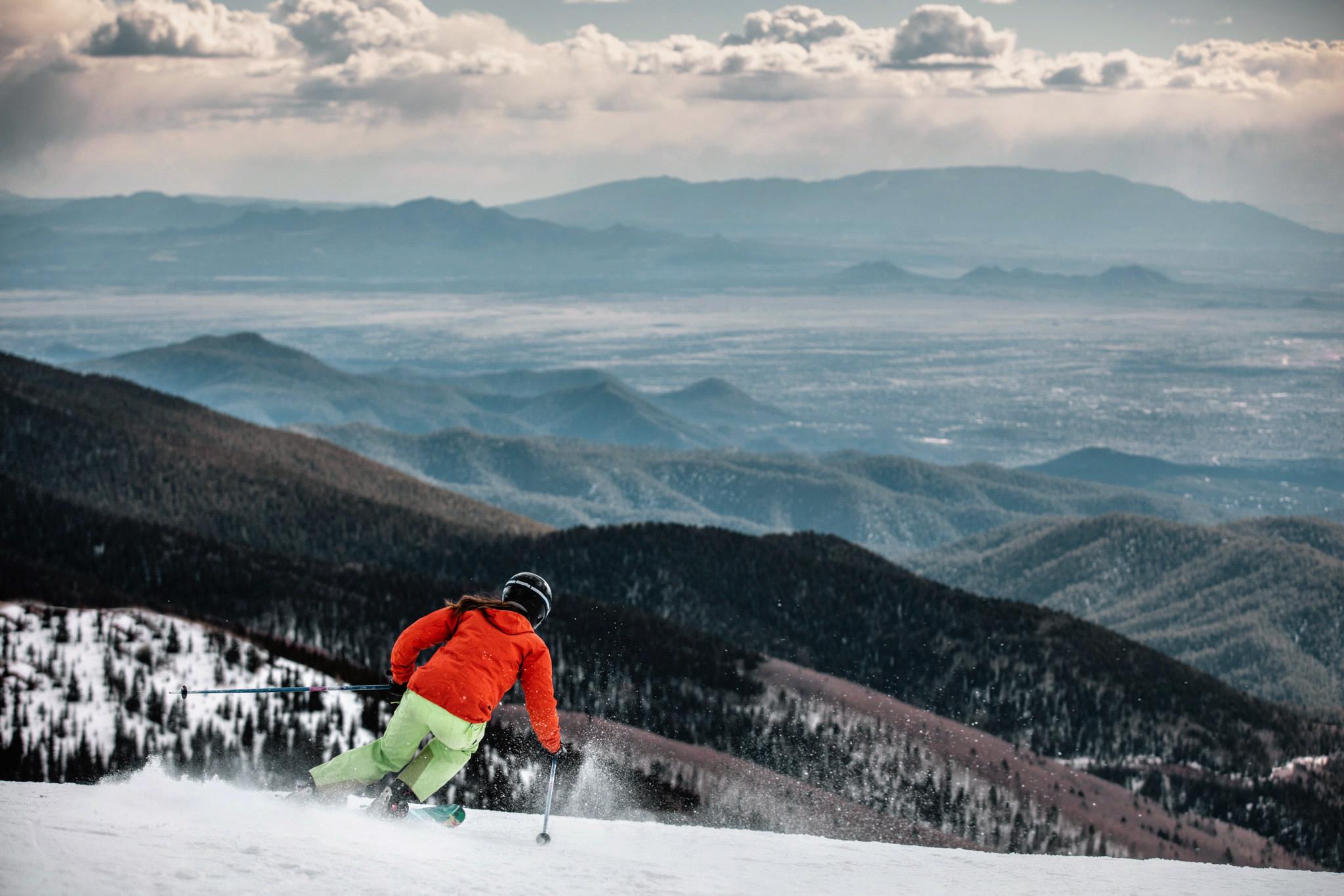 Altitude Of Santa Fe Nm >> Elevation Of Santa Fe Ski Basin Tularosa Basin 2017