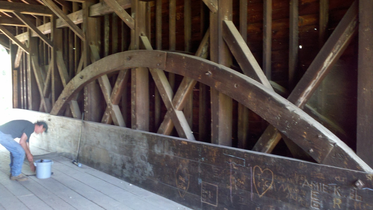 Hyde Hall Covered Bridge Cooperstown Ny 13326 New