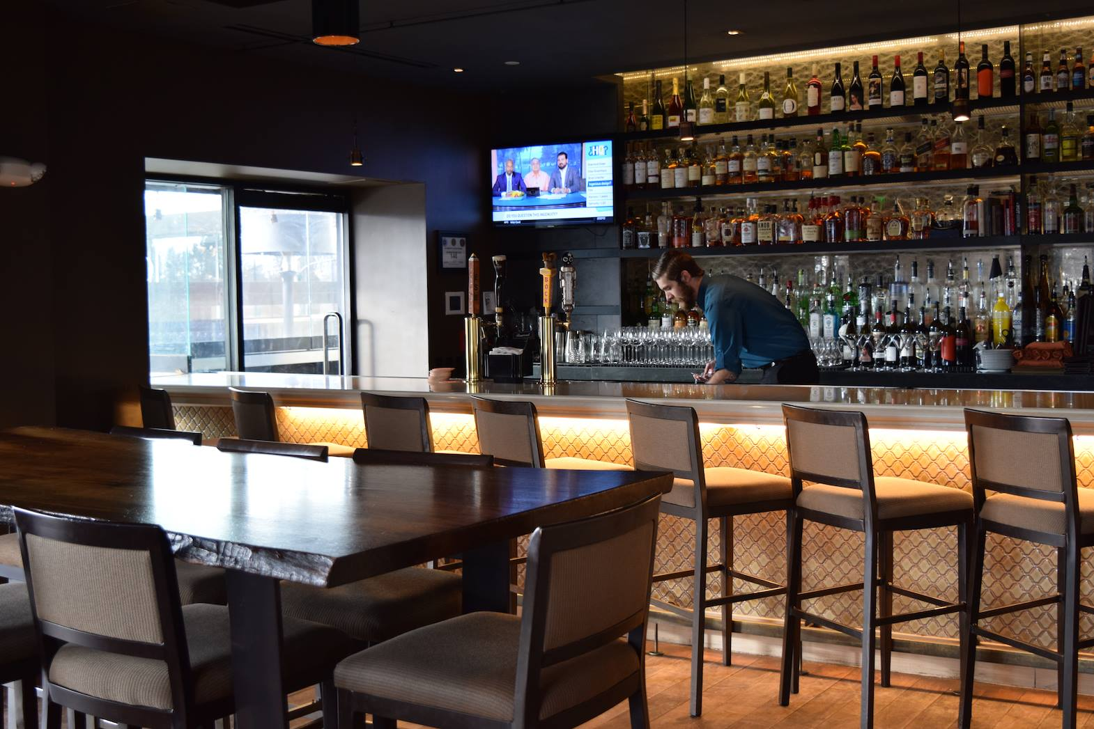 FLINTs Bar Interior Dining Area
