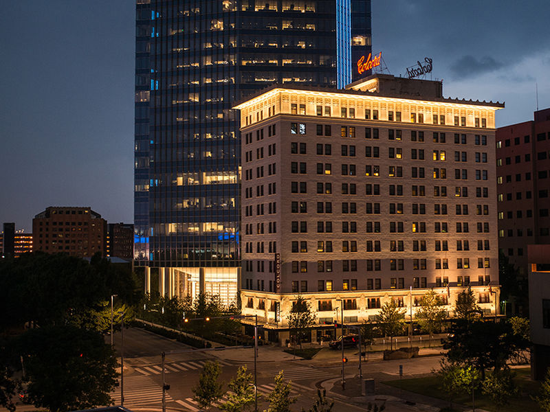 Colcord Hotel In Downtown Oklahoma City