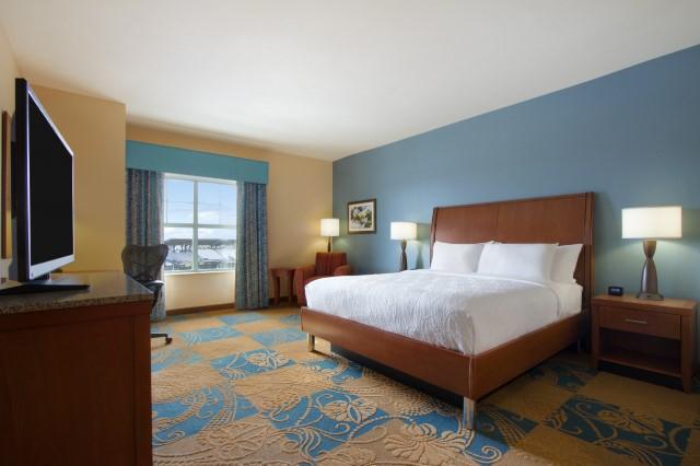 hilton garden inn king bedroom - Hilton Garden Inn Okc