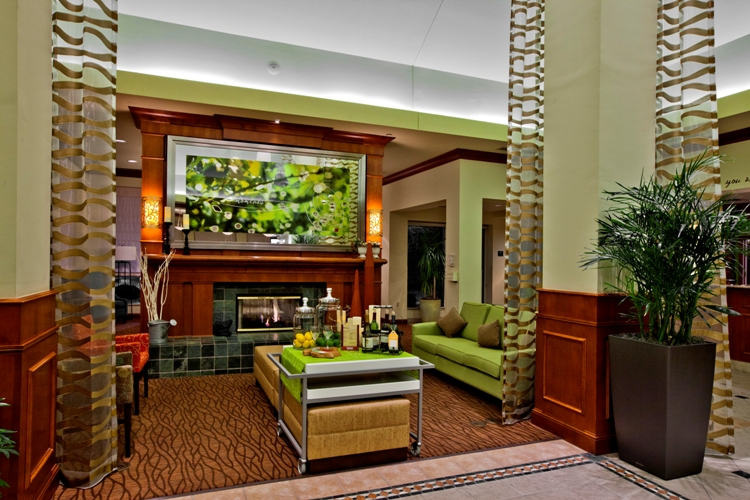 hilton garden inn oklahoma city airport staradd to my okc trip lobby - Hilton Garden Inn Okc