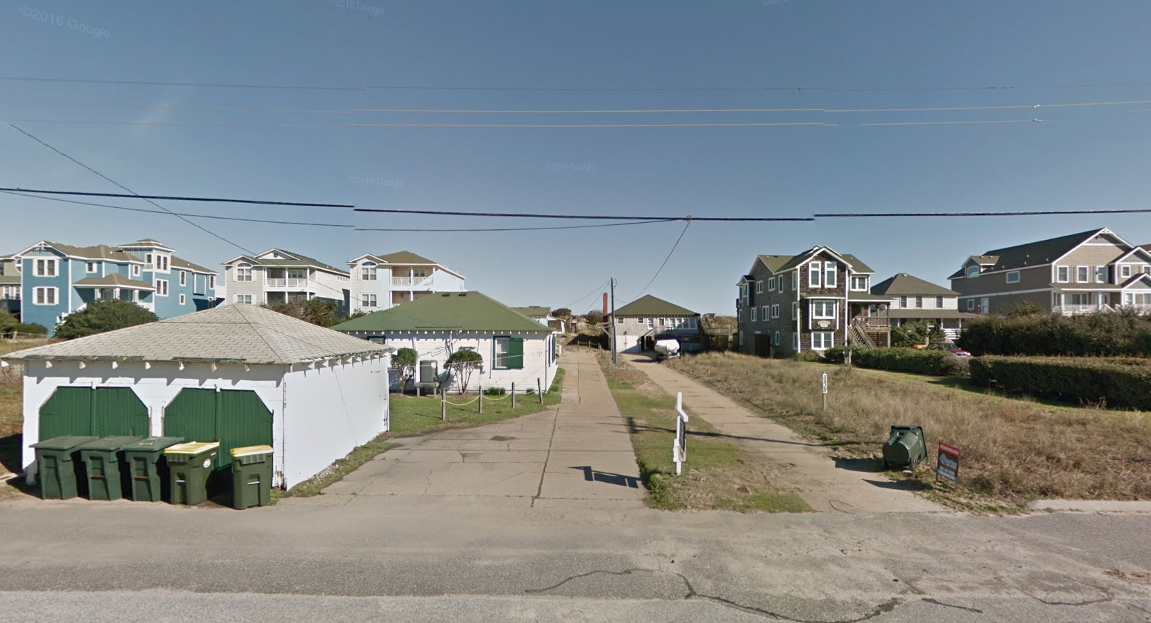stan outer the cottages white construction happy about booking clam realty banks