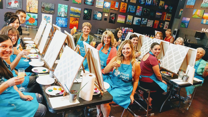 $10 Off Paint and Sip Class