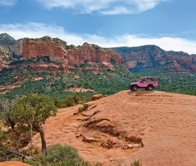 Nice Pink Jeep Tours Sedona 5 View Larger Image