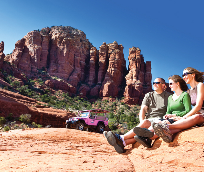 Charming Pink Jeep Tours Sedona 2 View Larger Image