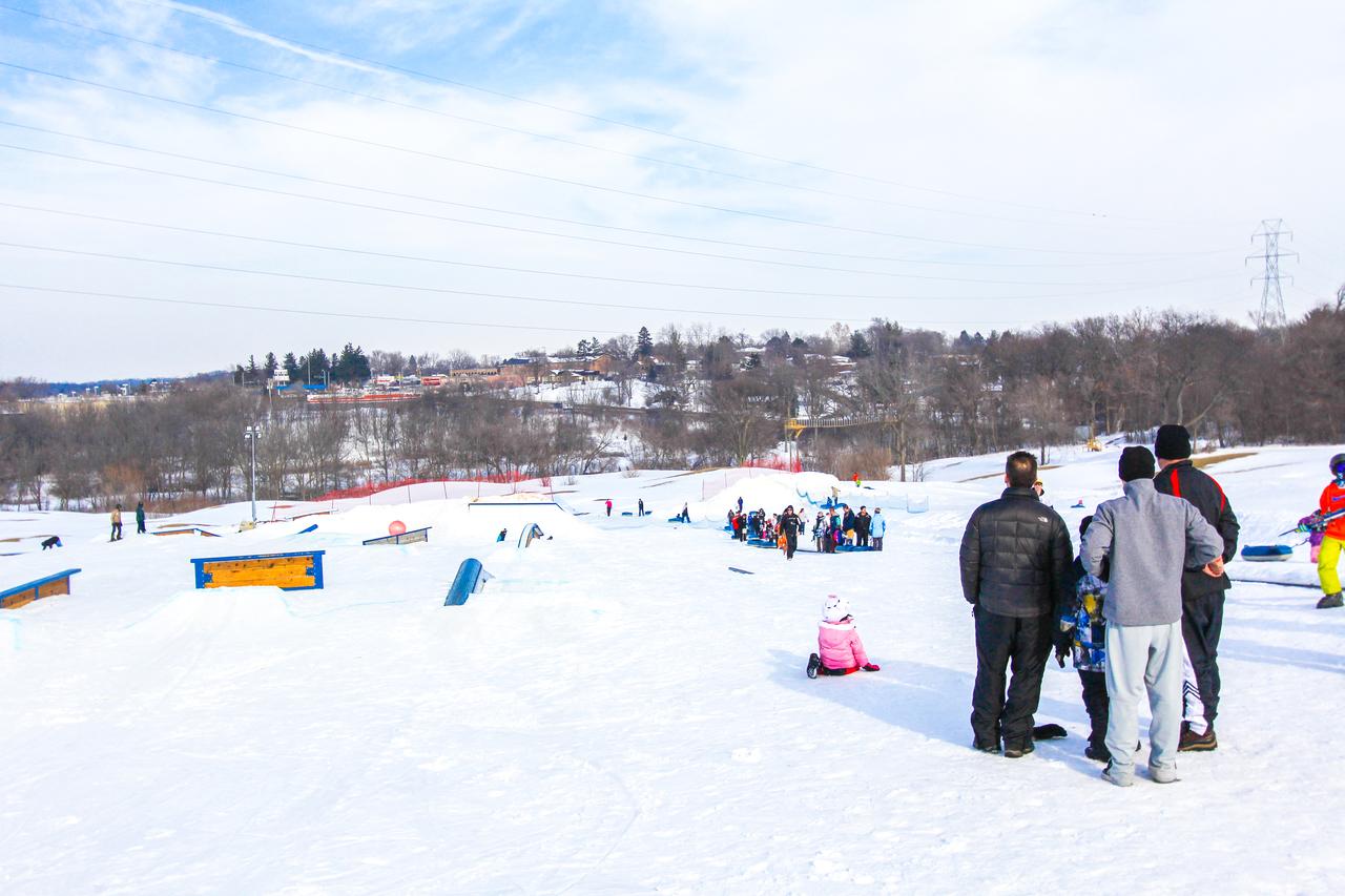 snow park at alpine hills