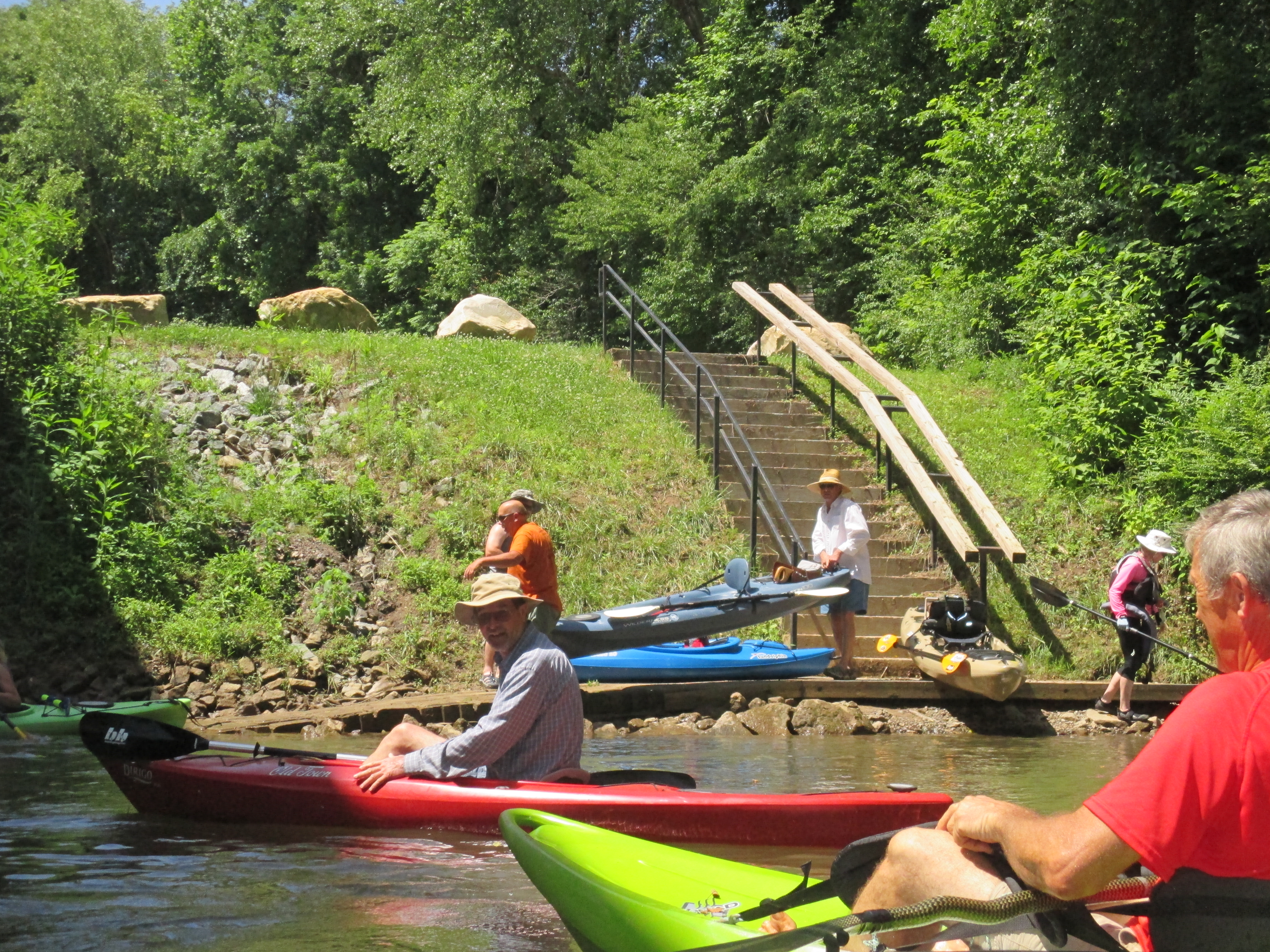 Broad River Paddle Trail - Grays Road Access