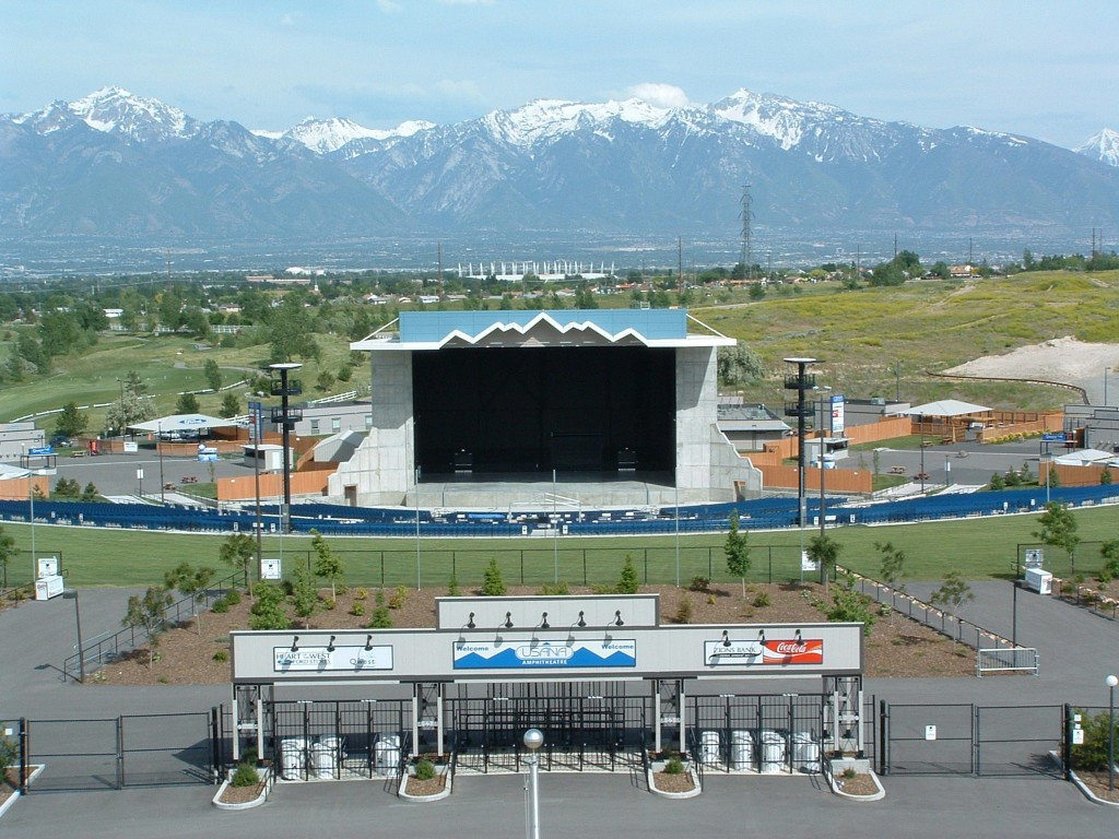 Usana Amphitheater Salt Lake City Ut 84118 Salt Lake