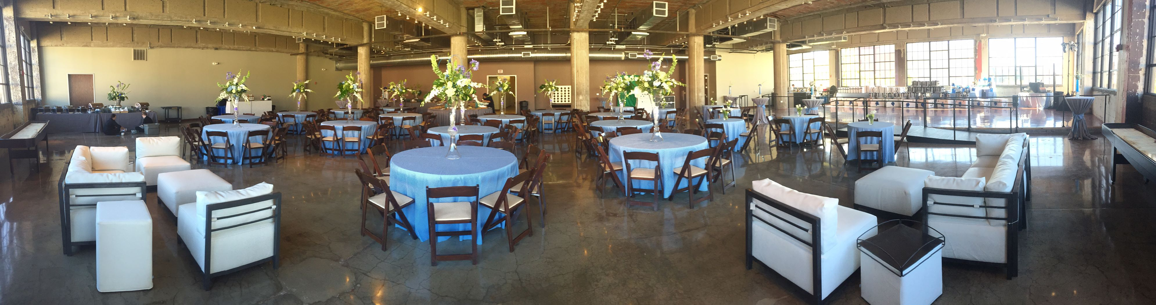601 Spring Event Center interior