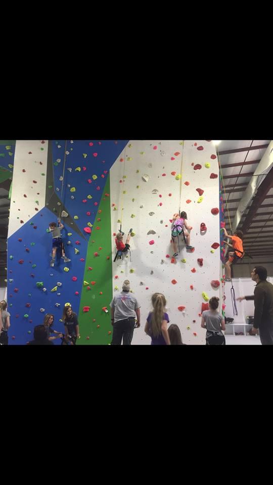 Indoor rock climbing shreveport
