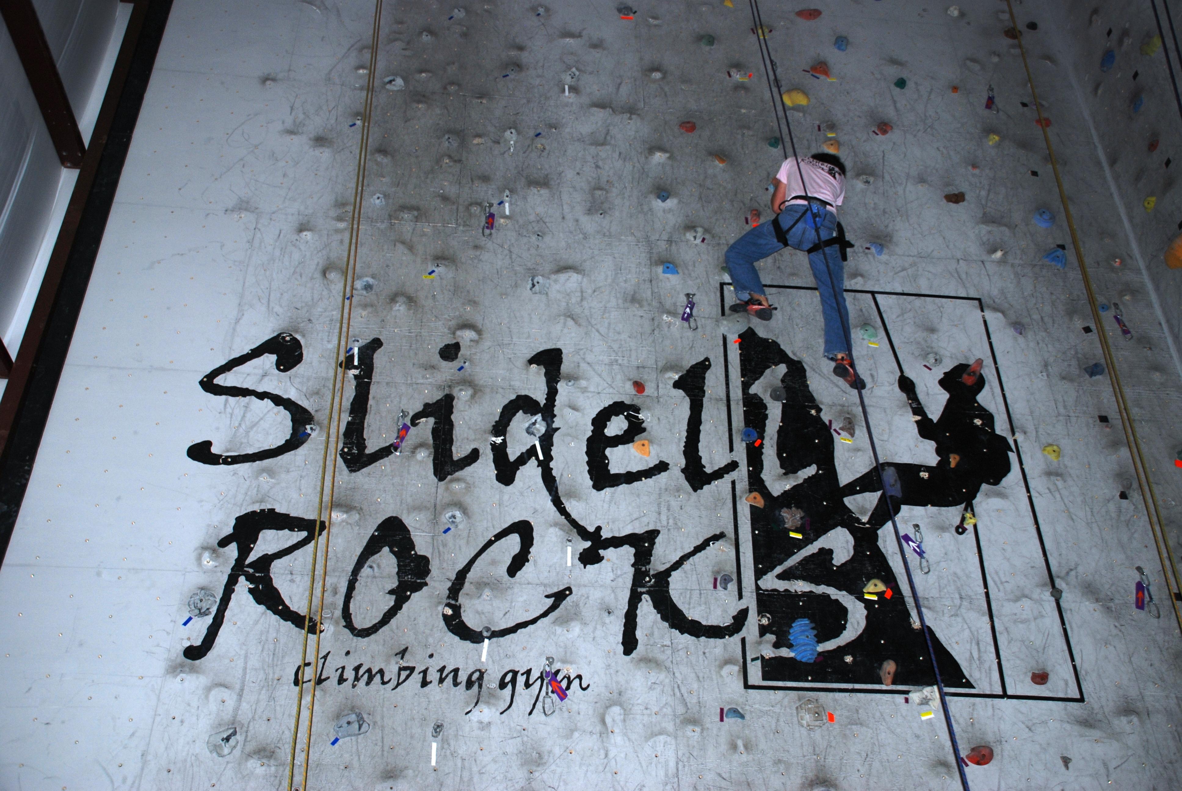 Rock climbing slidell