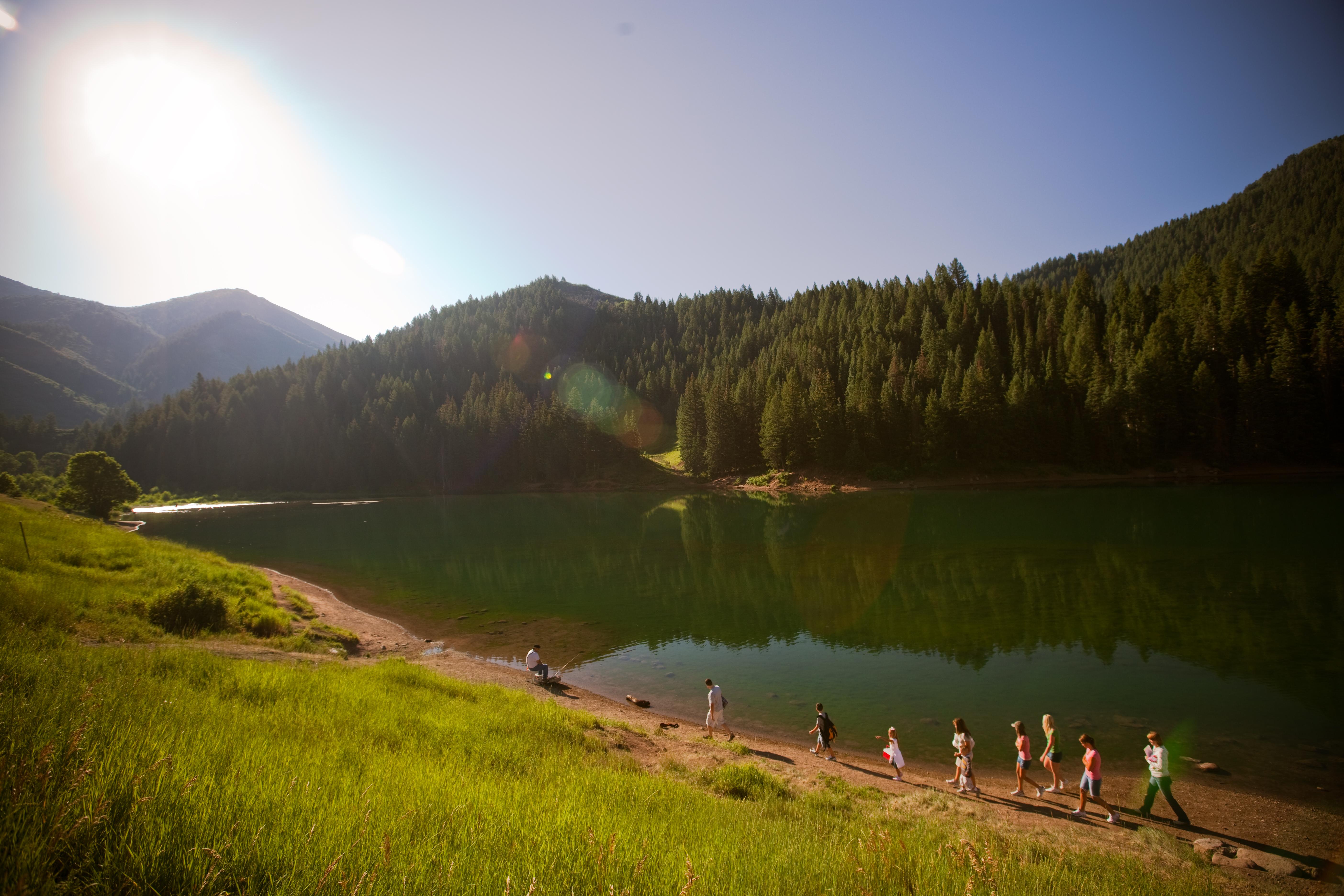 tibble fork reservoir silver lake