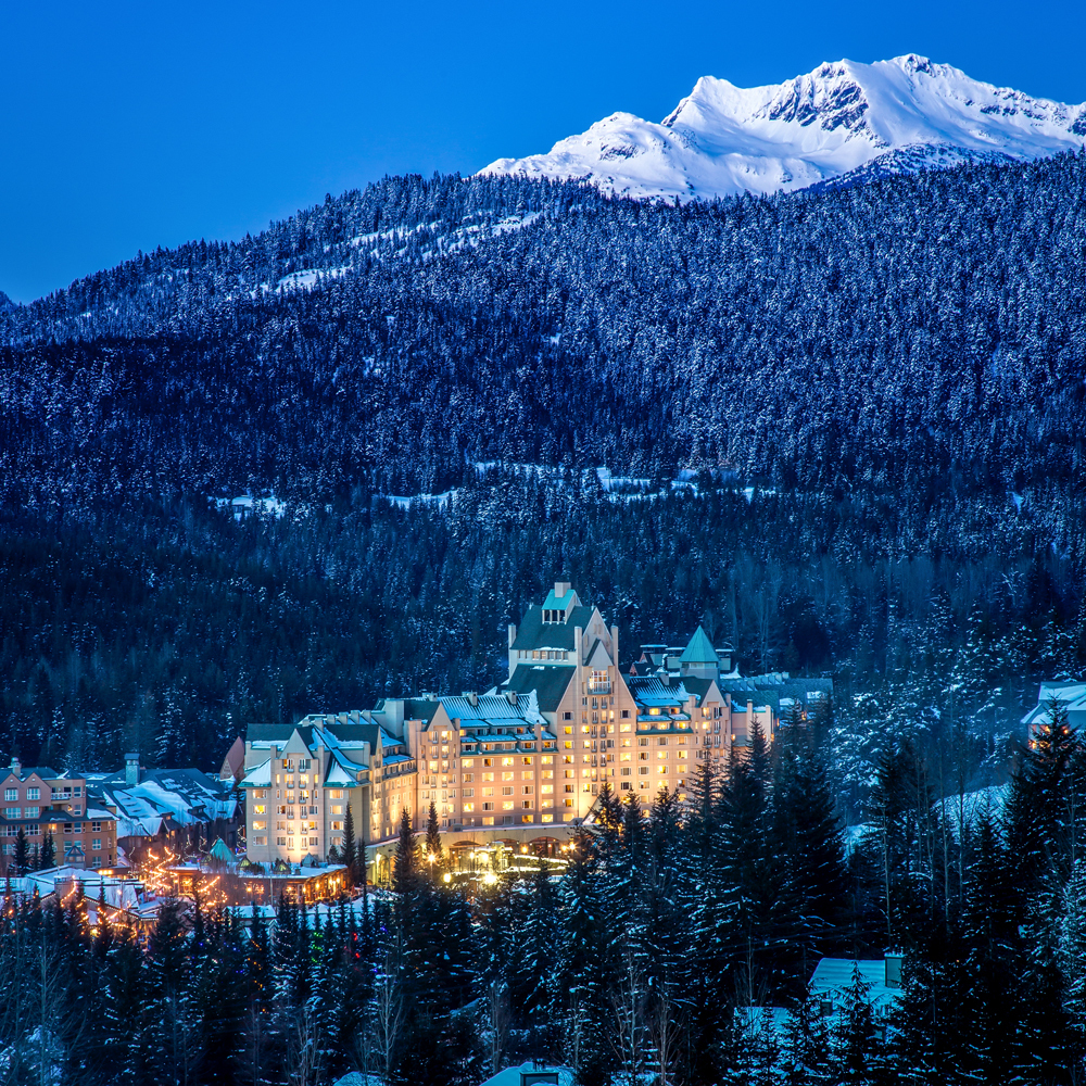 north americas largest ski in ski out resort hotel
