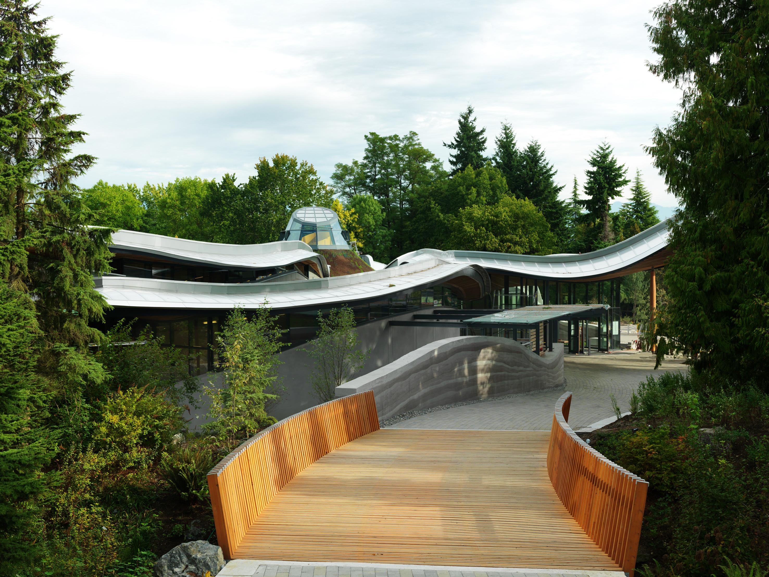 Visitor Centre. VanDusen Garden