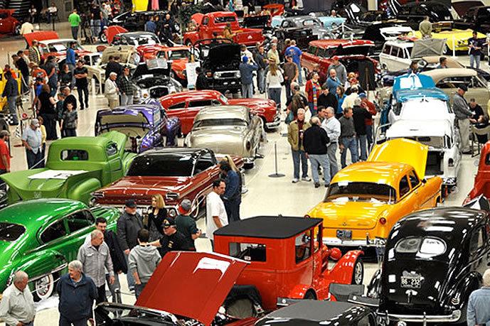 Cars For Charities Rod Customs Show - Custom car show