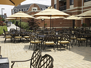Image result for courtyard marriott newark de Patio
