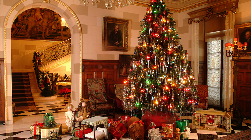 Image result for nemours mansion christmas tour