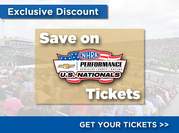 2017 NHRA U.S. Nationals Discount