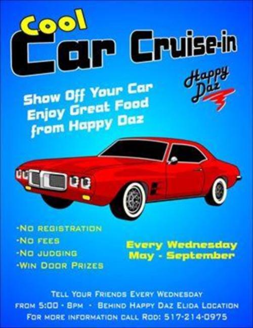 Happy Daz Cool Car Cruise In - Lima, Ohio Events
