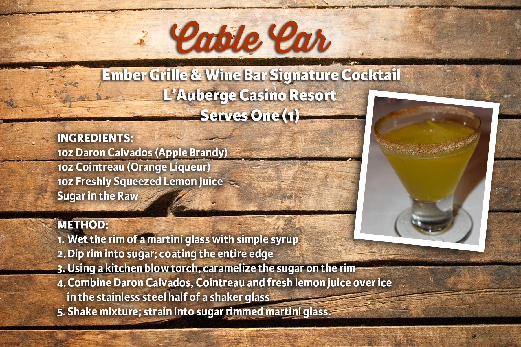 Cable Car Drink: Cajun Food Recipes From Louisiana