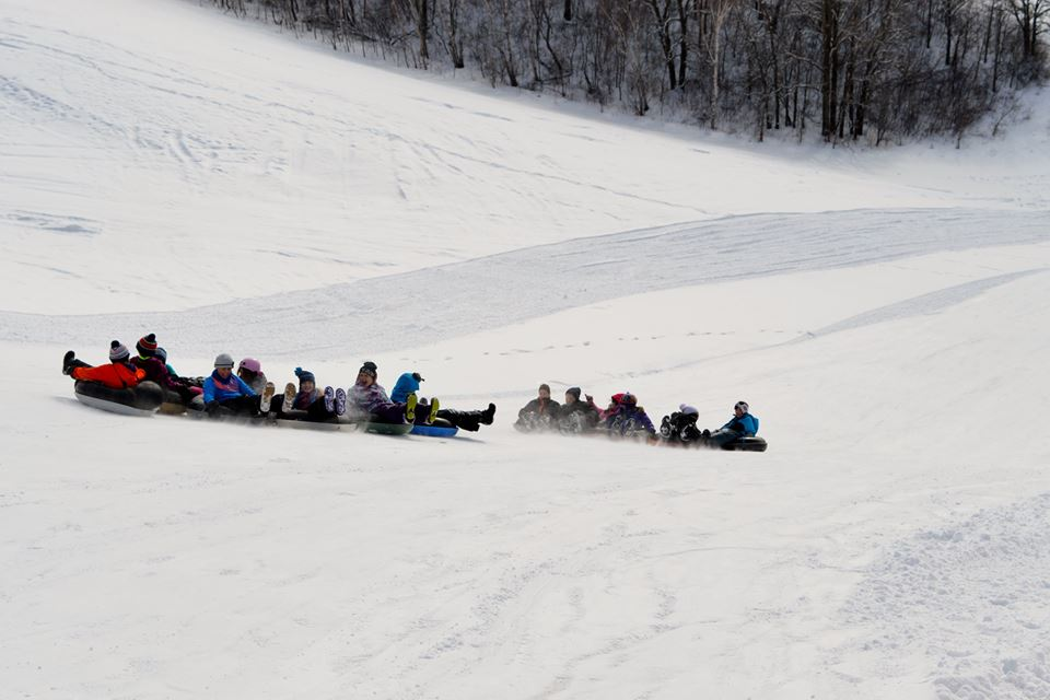 Valley View Tubing Hill in MacGregor, Manitoba