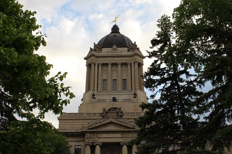 Manitoba Legislative Building, Golden Boy, Hermetic Code