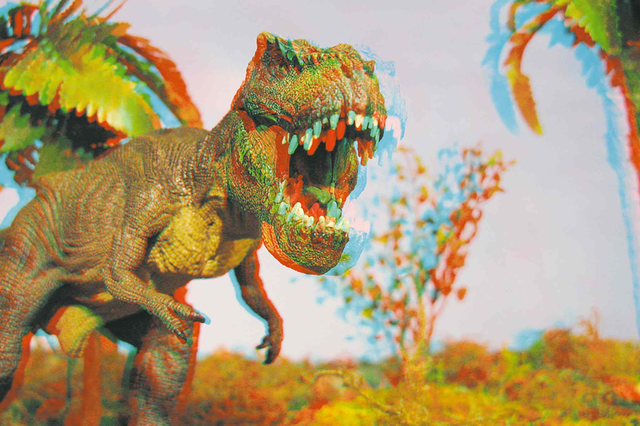 Dinosaurs in 3D Exhibit by Dennis Wiens