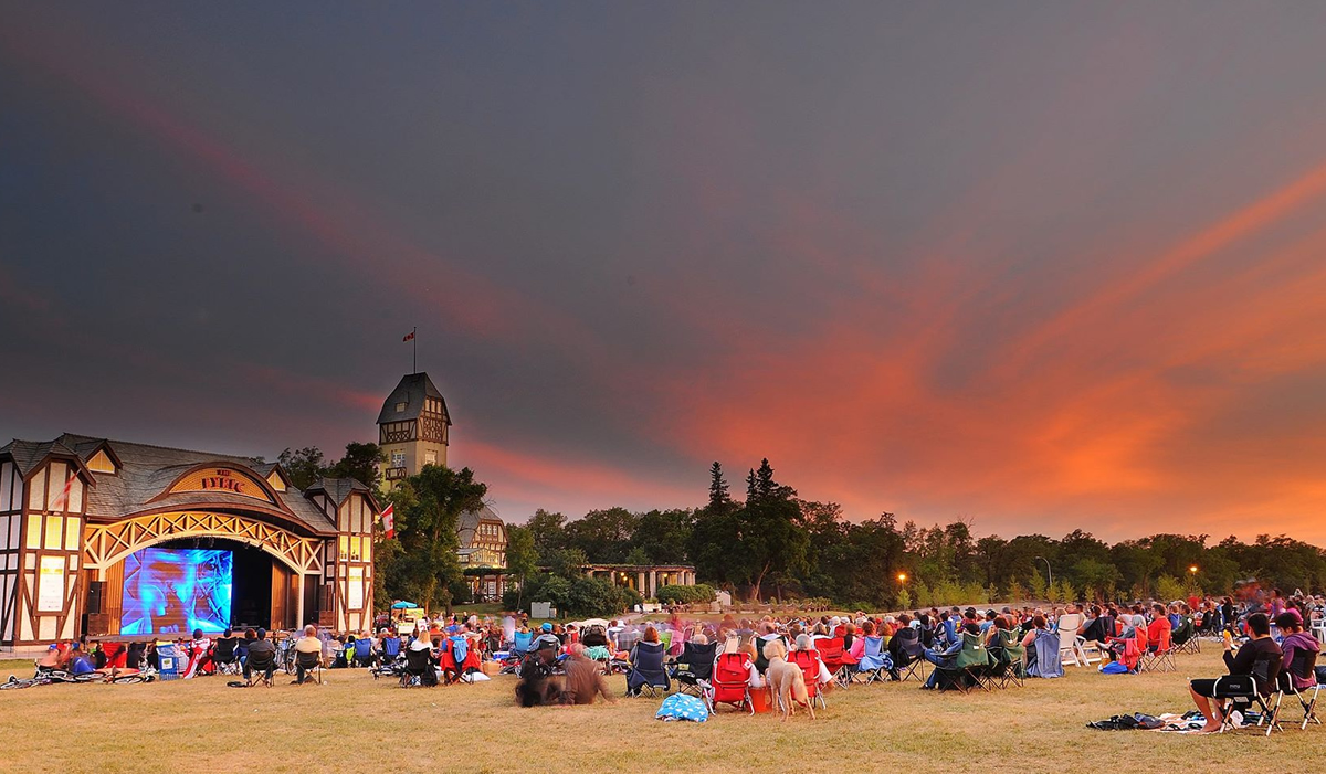 Movies in Assiniboine Park