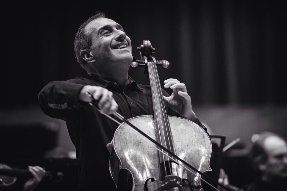Cellist Asier Polo