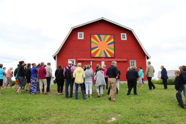 Barn Quilt Tour, Interlake, Manitoba