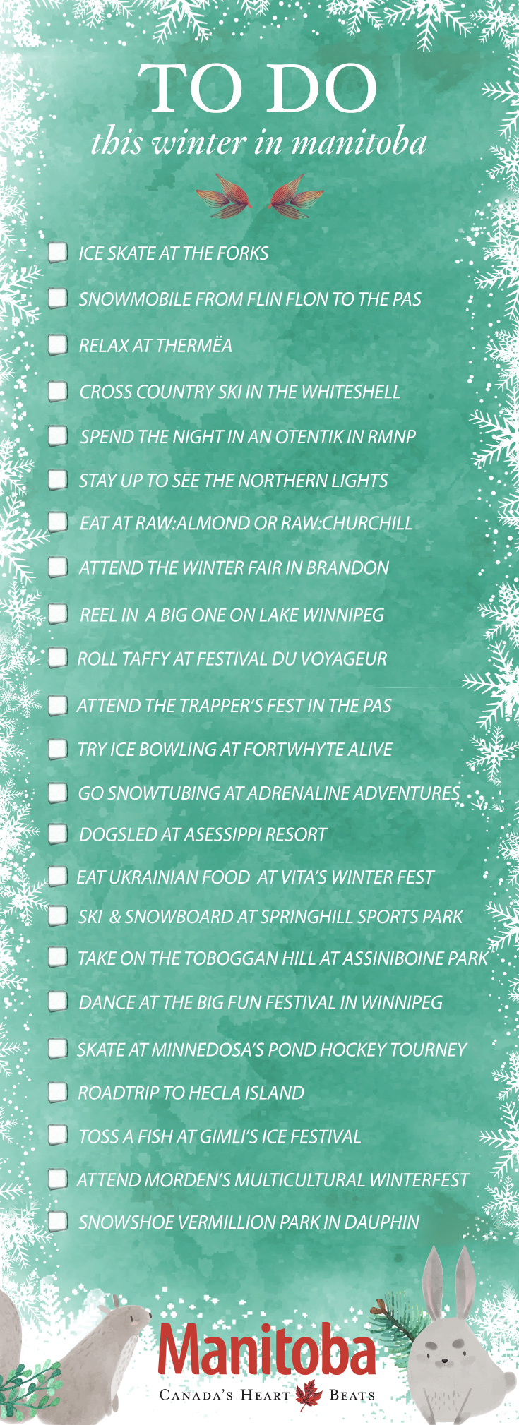 What to do in Manitoba in winter