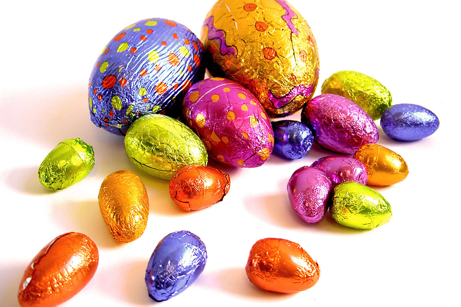Easter egg hunt at the Aviation Museum