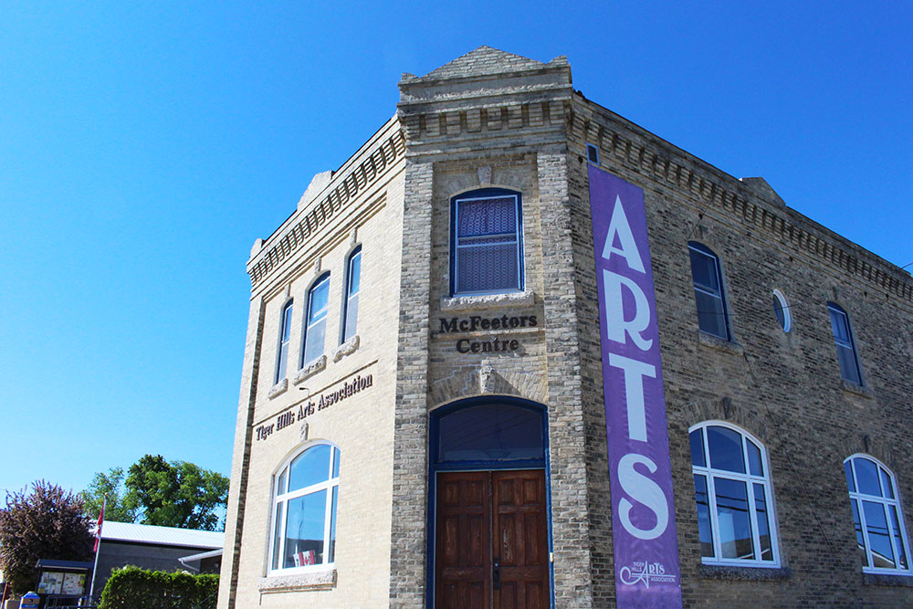 Tiger Hills Art Gallery in Holland, Manitoba