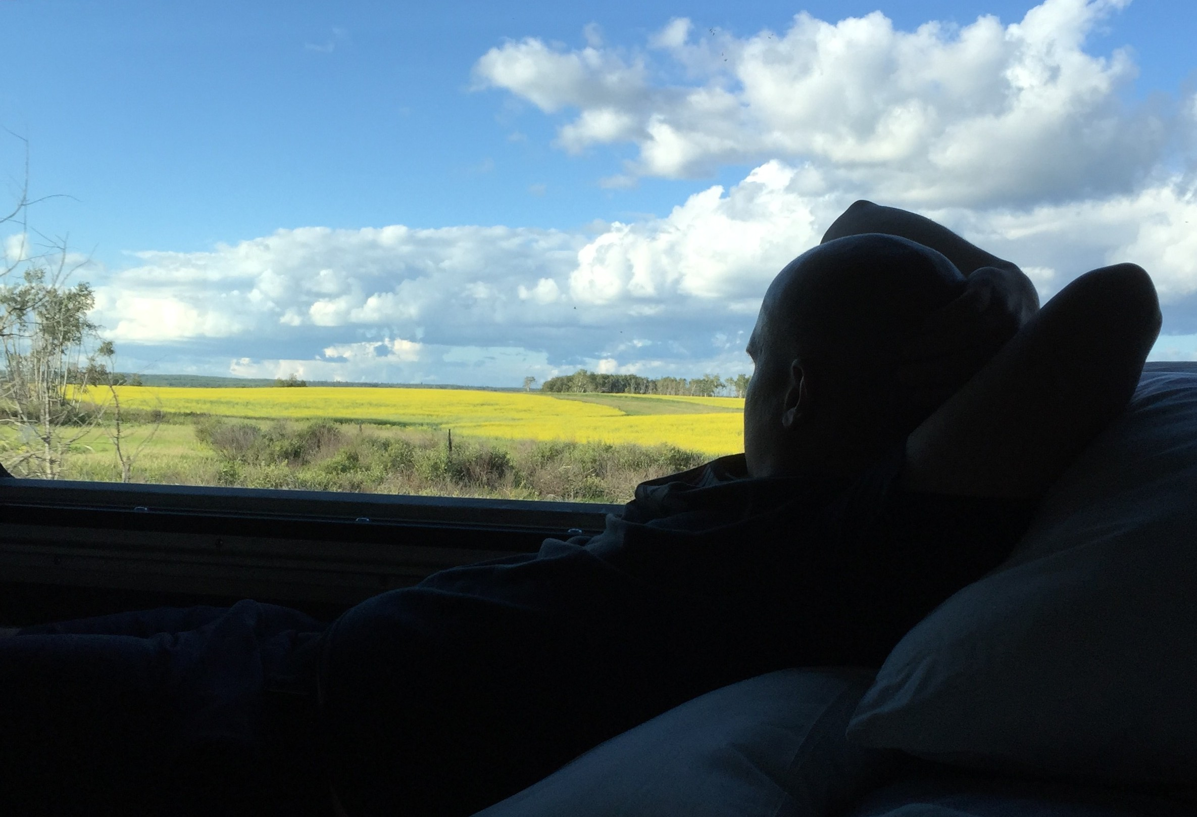 Watching Manitoba's landscape aboard VIA Rail
