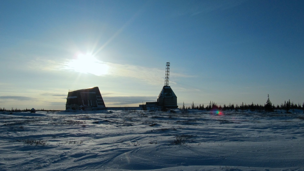 Rocket Range in Churchill